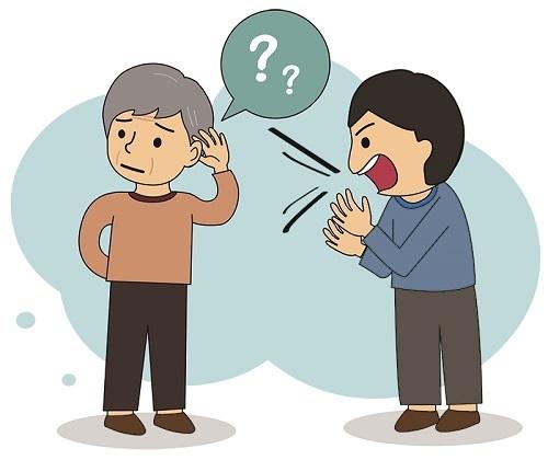 노인성난청은 내이에 노화현상이 일어나 청력이 서서히 떨어지는 질환이다.