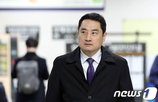 강용석 변호사..2018.3.19/뉴스1 © News1 황기선 기자