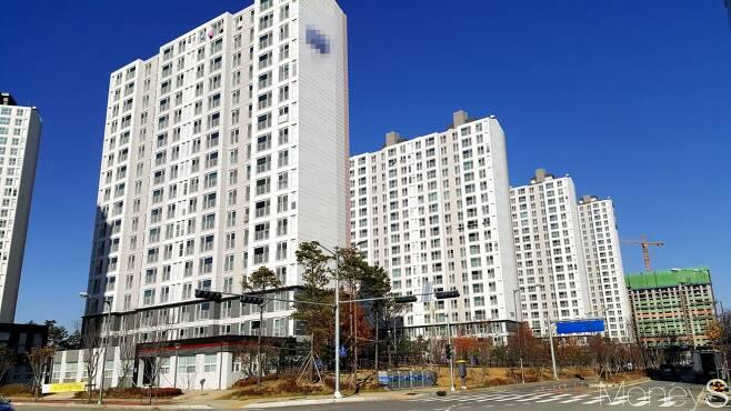 경기도의 한 아파트 단�. /사진=�창성 기자