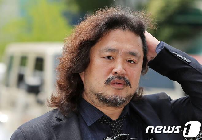 방송인 김어준씨/뉴스1 © News1 구윤성 기자