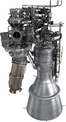 28일 발사하는 시험발사체는 순수 한국기술로 개발된 75t급 액체 추진 로켓 엔진이 들어간다. 액체 추진 로켓은 정교한 제어가 가능한 장점이 있지만 그만큼 그 구조가 복잡해 개발이 어렵다. -한국항공우주연구원 제공