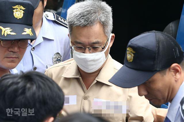 드루킹 김동원씨. 한국일보 자료사진