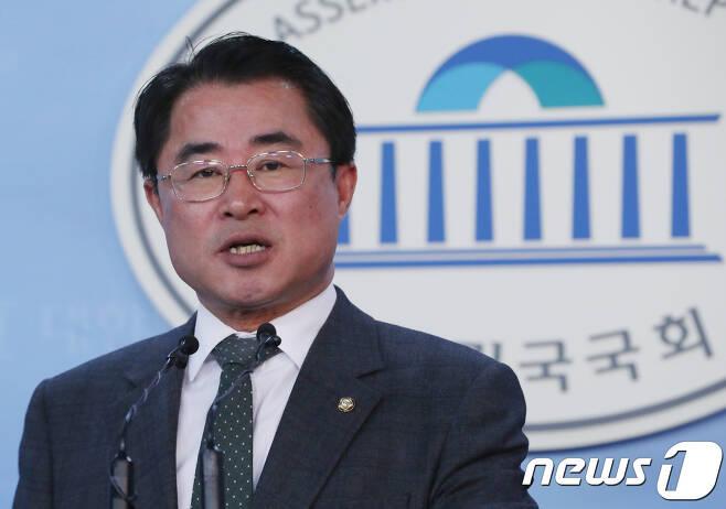 최경환 민주평화당 원내대변인. © News1 이동원 기자