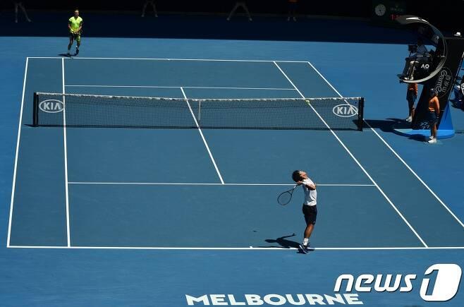 호주 오픈 테니스. © AFP=뉴스1