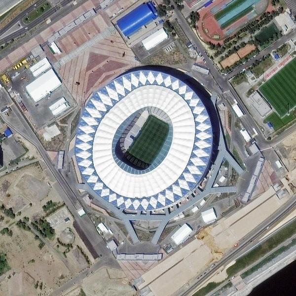 러시아 월드컵 경기장.