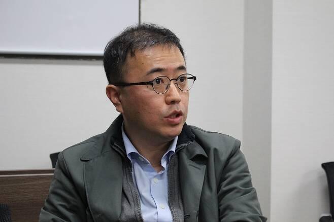 ▲ KBS 최경영 기자. 사진=미디어오늘 자료사진(김도연 기자)