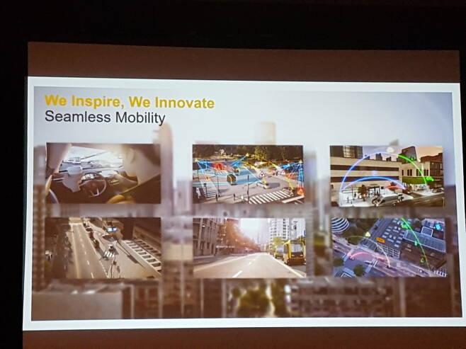 [사진]CES 2019,콘티넨탈의 Seamless Mobility