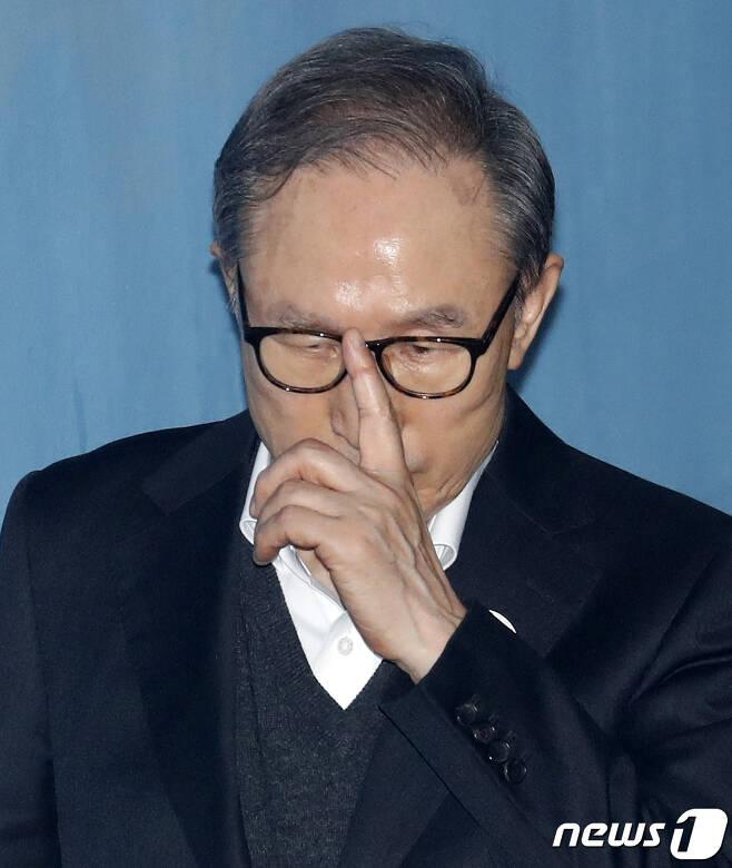 이명박 전 대통령. 2019.1.23/뉴스1 © News1 이승배 기자