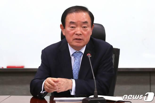 장병완 민주평화당 원내대표. © News1 임세영 기자