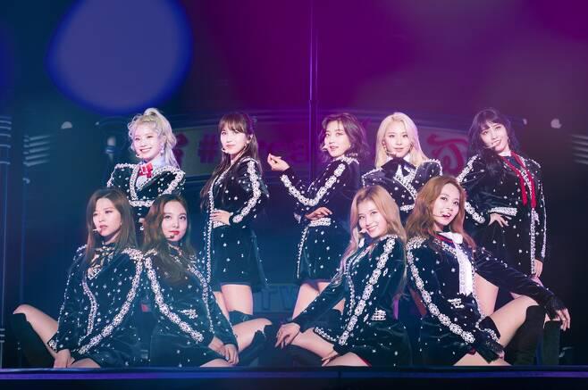 ▲ 일본 교세라돔에서 공연 중인 걸그룹 트와이스, 제공|JYP엔터테인먼트