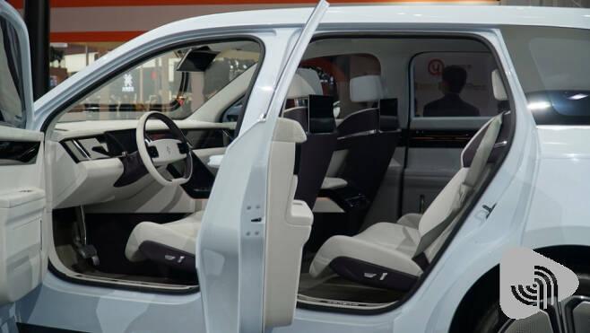 Bordrin의 전기차 콘셉트 IV7, 내년 출시 예정이다.