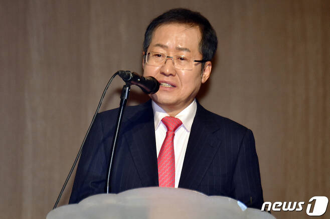 홍준표 전 자유한국당 대표  2019.1.30/뉴스1 © News1 임세영 기자