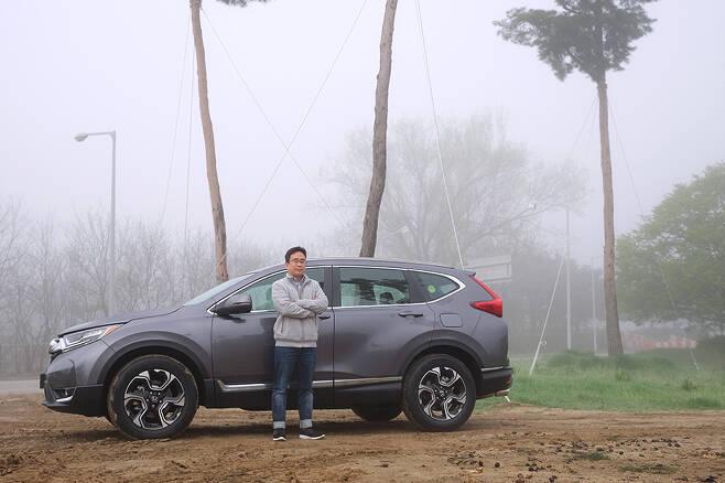 자동차 디자이너, 김지훈이 혼다 CR-V 시승에 나섰다.
