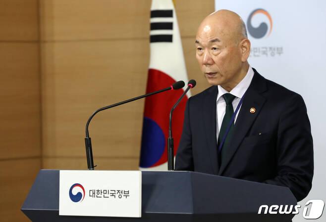이효성 방송통신위원장 © News1 박세연 기자