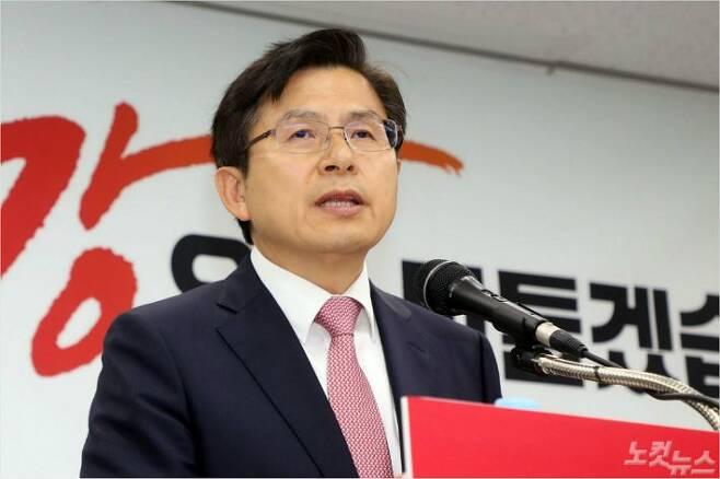 자유한국당 황교안 대표.(사진=윤창원 기자/자료사진)