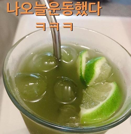 김미려 14kg 감량 깻잎 다이어트 사진=김미려 SNS