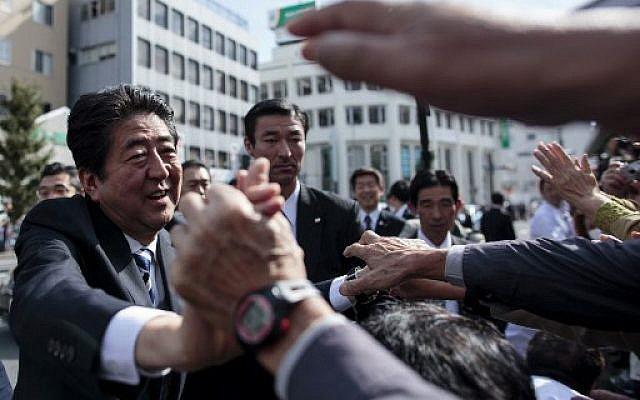 아베 신조 일본 총리 (사진=AFP)