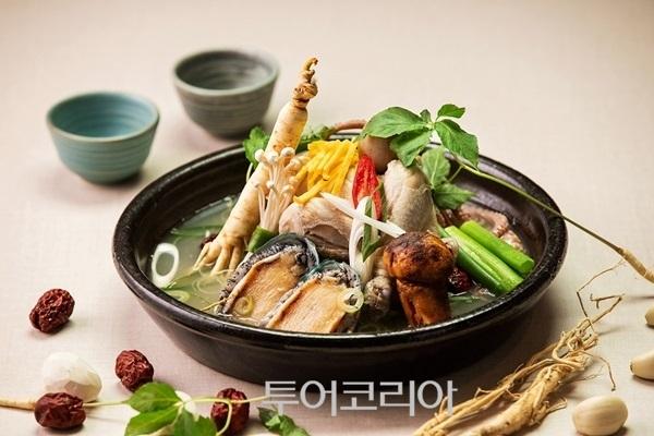 ▲ 노보텔 앰배서더 서울 강남, 안뜨레 해신탕