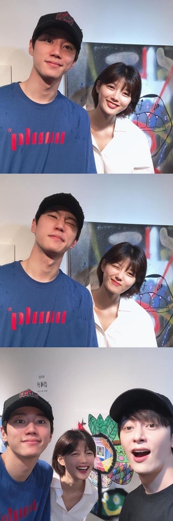 김유정 이준영 동현 / 사진=김유정 인스타그램