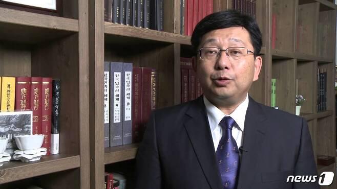 호사카 유지 세종대 교수(출처=유튜브 화면 갈무리) © 뉴스1