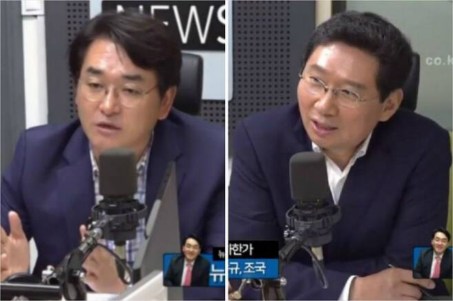 [뉴스닥] 더불어민주당 박용진 의원, 무소속 이상일 전 의원