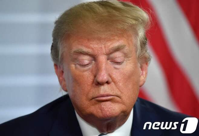 도널드 트럼프 미국 대통령. © AFP=뉴스1 © News1 자료 사진