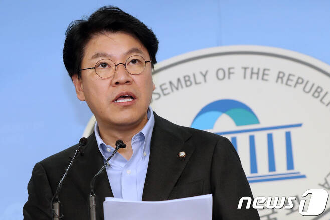 장제원 자유한국당 의원. 2018.12.3/뉴스1 © News1 민경석 기자