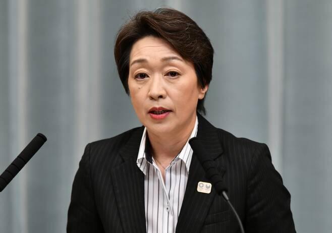 하시모토 세이코 일본 올림픽·패럴림픽 담당 장관. /사진=AFP