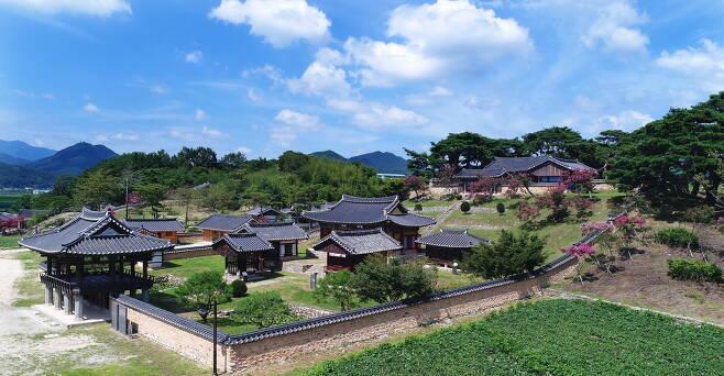 정여창의 위패를 모신 함양 남계서원 전경. 함양군청 제공