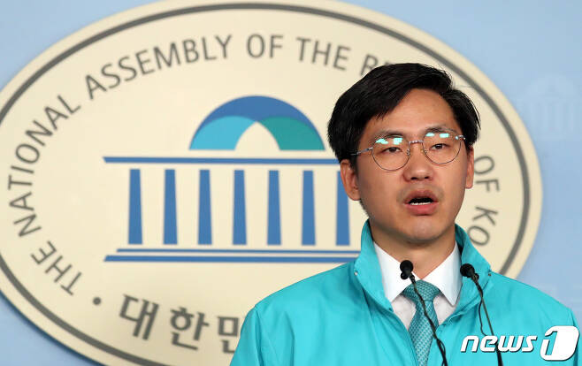 이종철 바른미래당 대변인. © News1 김명섭 기자
