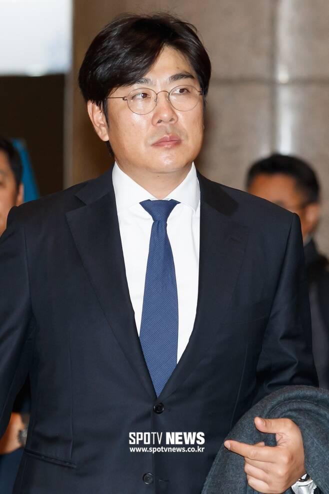 ▲ 정민철 한화 이글스 신임 단장 ⓒ한희재 기자