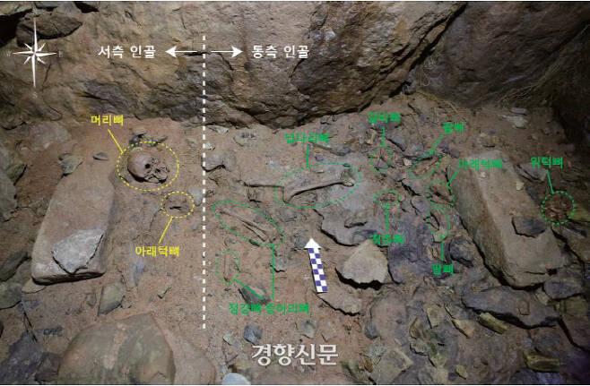 정촌고분에서는 인골이 2개체 확인됐다. 시차를 달리해서 묻힌 피장자들은 모두 여성이었다. 그중 5세기 4/4~6세기 1/4분기에 묻힌 여성은 금동신발을 갖고 있었다. 이 여성의 높은 신분을 짐작할 수 있다.|국립나주문화재연구소 제공