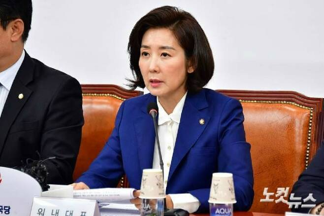 자유한국당 나경원 원내대표(사진=윤창원 기자/자료사진)