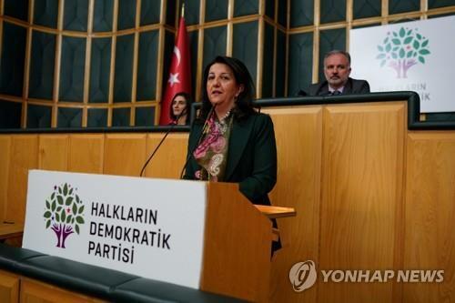 페르빈 불단 HDP 공동대표 [로이터=연합뉴스]