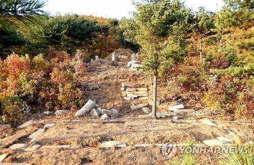 北, 개성서 고려시대 왕릉 발굴 연합뉴스 자료사진