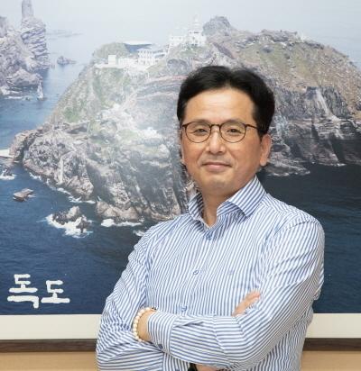 김상태 독도재단 경영기획실장. 독도재단 제공