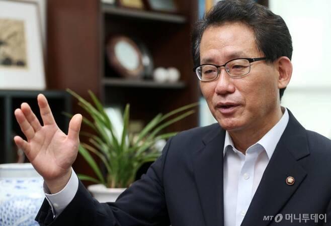 유기홍 전 더불어민주당 의원 / 사진=이동훈 기자 photoguy@