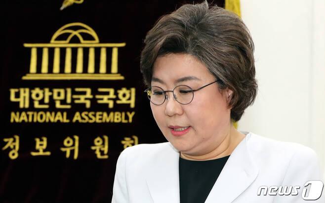 이혜훈 국회 정보위원장.  © News1 이종덕 기자