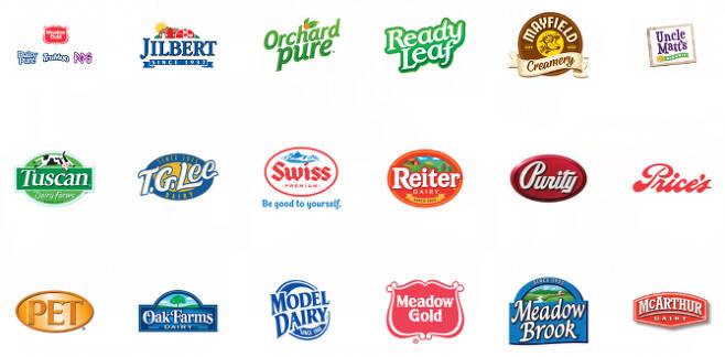 딘푸즈의 브랜드들. (사진=딘푸즈 홈페이지)