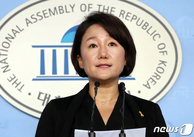 이재정 더불어민주당 대변인. © News1 이종덕 기자