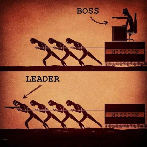차두리의 소셜미디어 계정에는 보스는 뒤에 가만히 앉아 지시하고, 리더는 맨 앞에서 함께 이끌어간다는 내용을 담은 그림이 담긴 적이 있다.