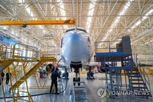한국항공서비스 정비 현장 [한국항공우주산업 제공]
