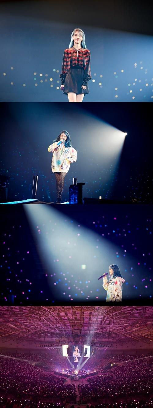아이유, 2019 'Love, poem' 콘서트 성료 사진=카카오엠