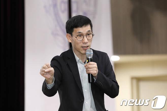 진중권 전 동양대 교수. (서울여대 제공) © News1