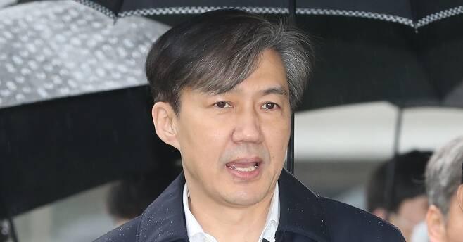 조국 전 법무장관. 연합뉴스