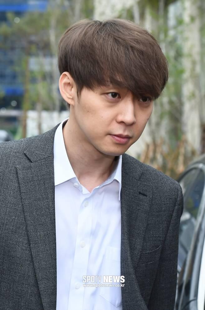 ▲ 마약 투약 혐의로 집행유예를 선고받은 가수 겸 배우 박유천. ⓒ곽혜미 기자