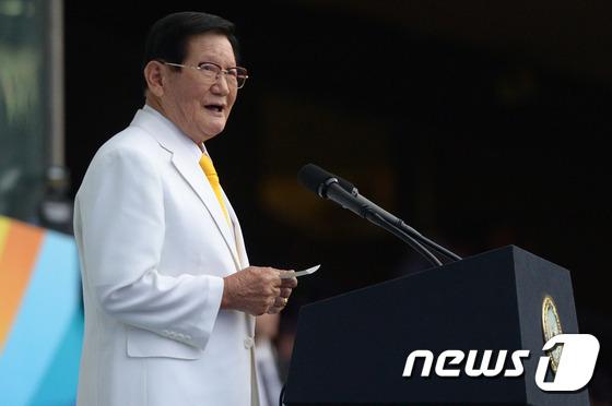 이만희 HWPL 대표 겸 신천지예수교 증거장막성전 총회장. © News1 민경석 기자