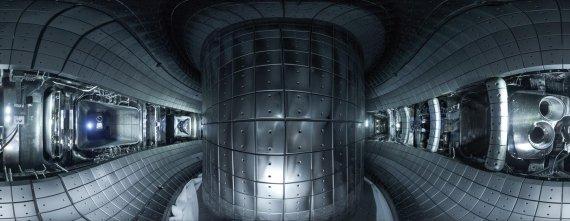 KSTAR 진공용기 내부. 핵융합연구소 제공
