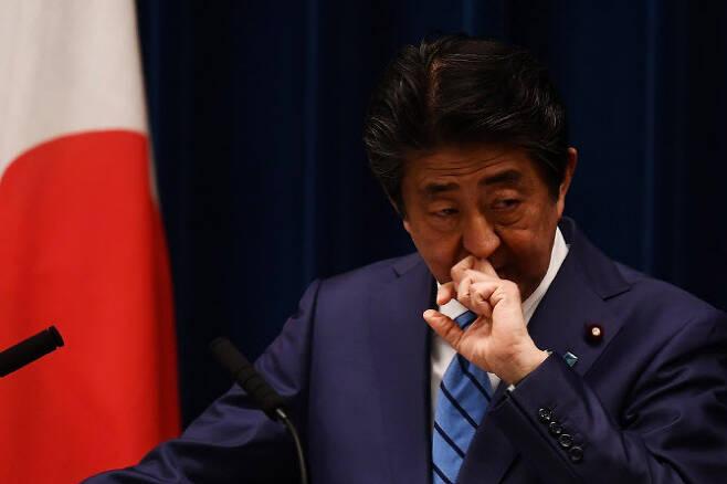 아베 신조 일본 총리. 사진=AFPBBNews