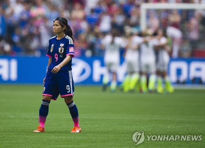 일본 여자축구 대표 출신의 가와스미 나호미. [EPA=연합뉴스 자료사진]